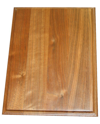 hardwood rectangle plaque