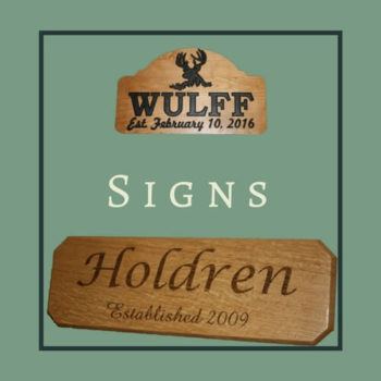 wooden family sign thumbnail