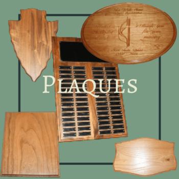Hardwood Xpress Plaques - Edina, MO