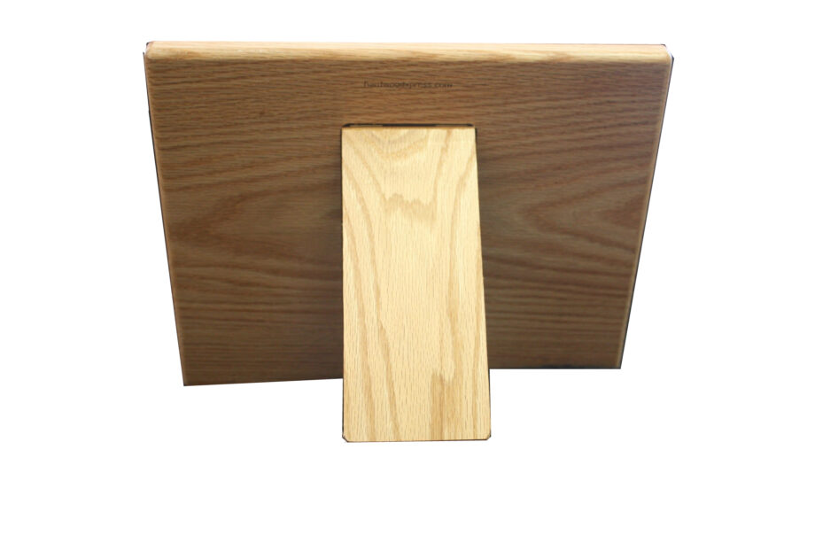 Hardwood Cookbook Holder