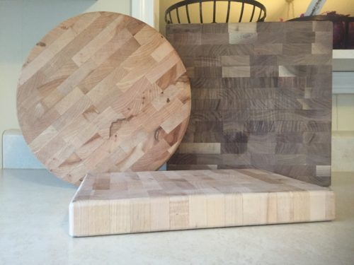end grain chopping blocks