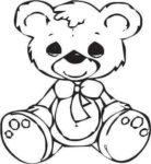 teddy bear for laser engraving