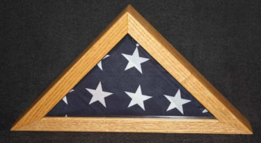 hardwood xpress small wooden flag box