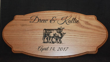 Everlasting Wooden Sign or Plaque