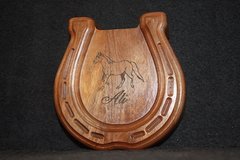 Horseshoe Keepsake Box